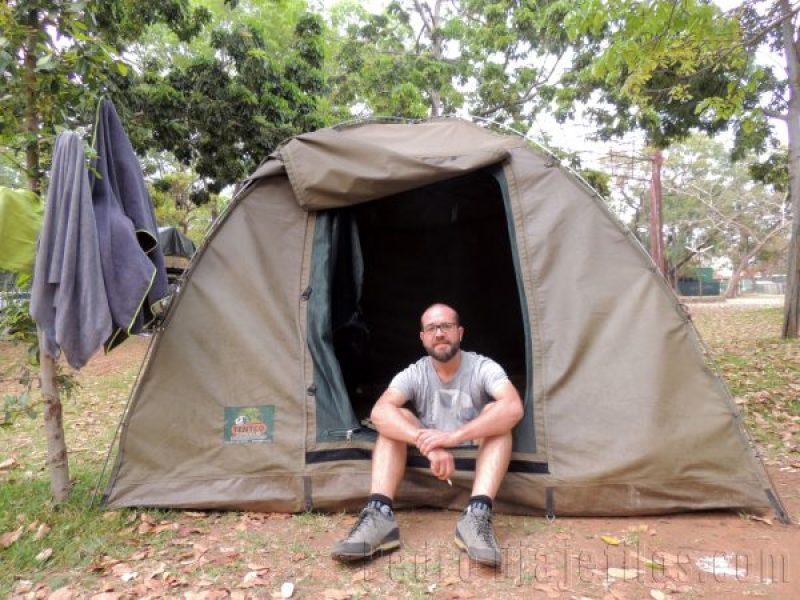 Acampada en Victoria Falls. Un viaje al Sur de Africa