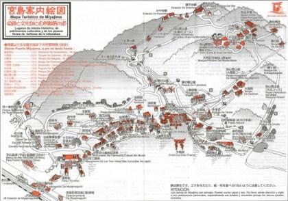 Mapa Miyajima