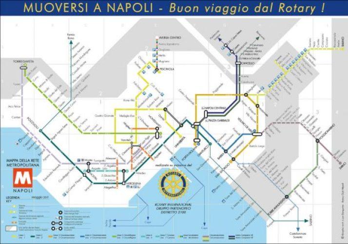 Mapa metro Napoles