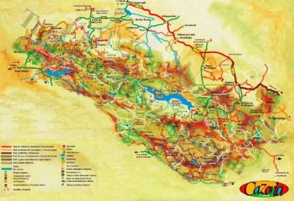 Mapa-turismo-Sierra-de-Segura-y-Cazorla