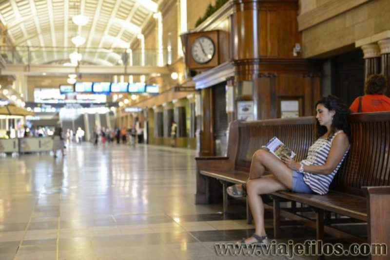 La estación central de Adelaida, una de nuestras visitas en el viaje a Australia