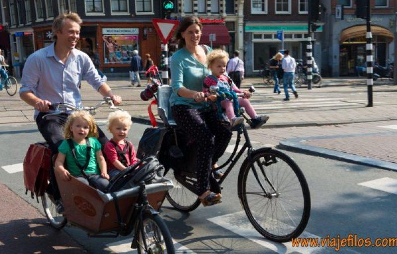 Las bicicletas en Amsterdam