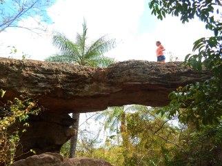 Ponte de Pedra, vista de baixo
