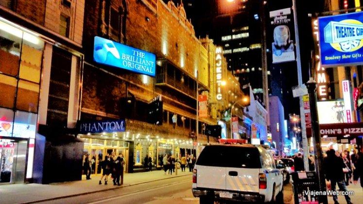 Musicais da Brodway - O fantasma da Ópera em Nova York