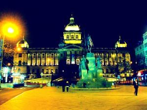 Museu Nacional de Praga - Praça Wenceslas