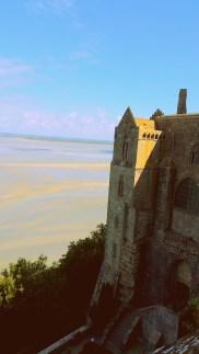 Vista de cima do Mont Saint Michel