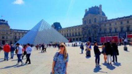 Fotos de Viagem - Pirâmide do Louve