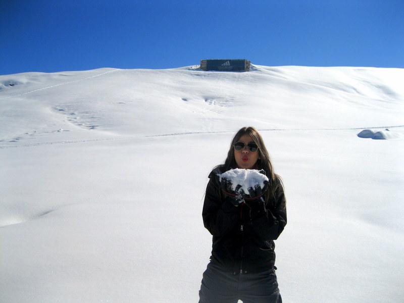 Valle Nevado - Neve intocada