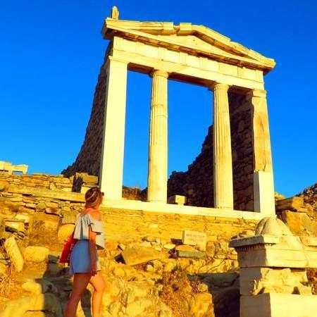Roteiro em Mykonos - Visita a Delos