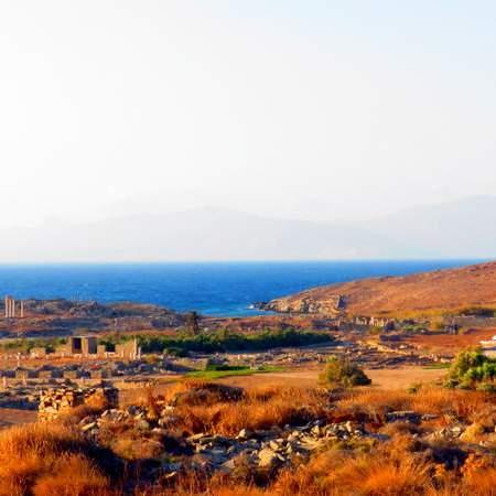 Ilhas em Mykonos