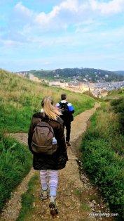 falésias de Etretat - Hiking na França