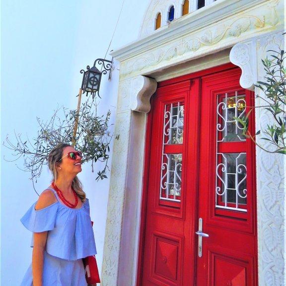 Bairro de Chora em Mykonos