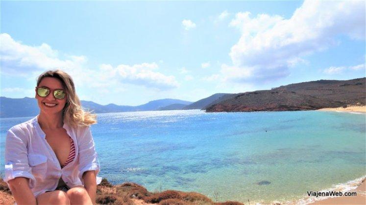 Praias em Mykonos - Agios - Sostis