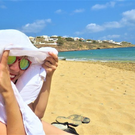 Praias em Mykonos - Agios Sostis