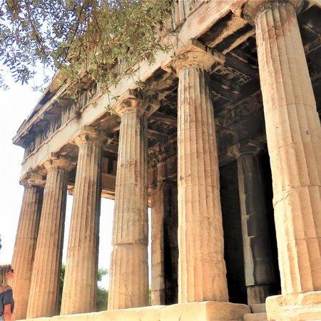 Templo de Hefesto - Roteiro de um dia em Atenas