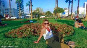 Curtindo os Jardins de Miraflores