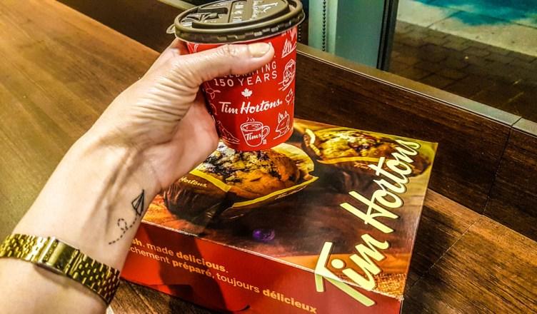 French Vanilla do Tim Hortons