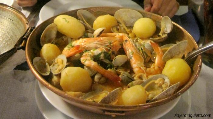 comida típica Algarve Portugal 1