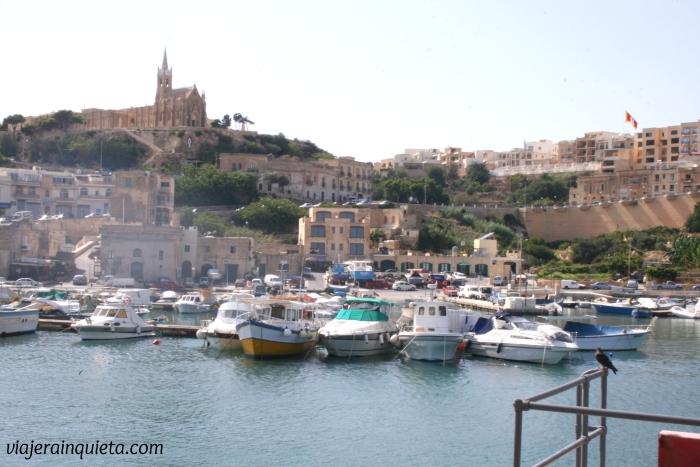Gozo Malta Puerto