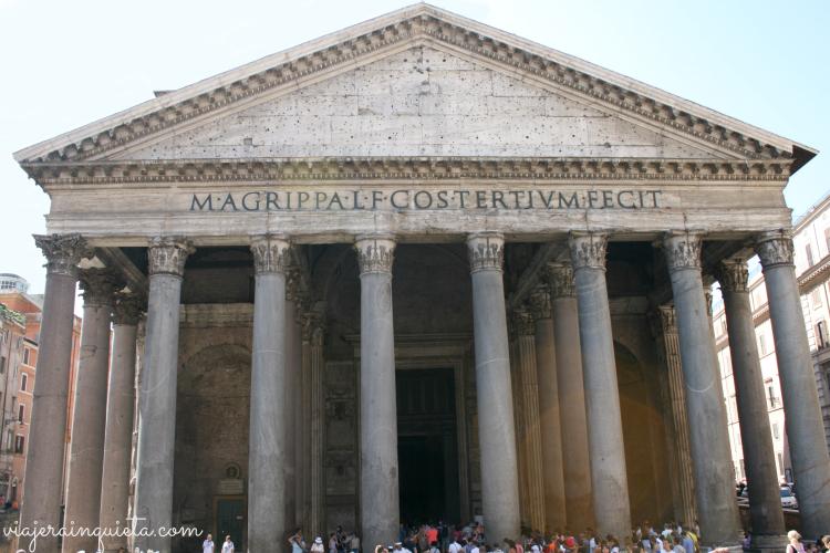 Panteon de Agripa Roma