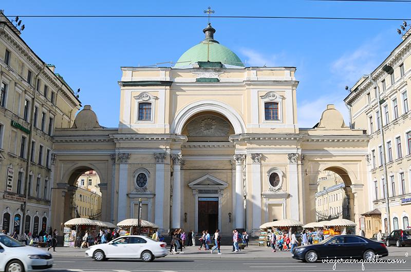 Viajar a San Petersburgo Rusia