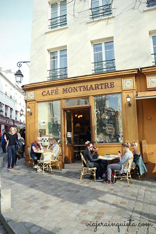 Barrio de Montmartre Paris