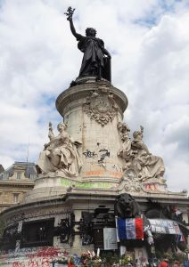 Plaza de la República, París