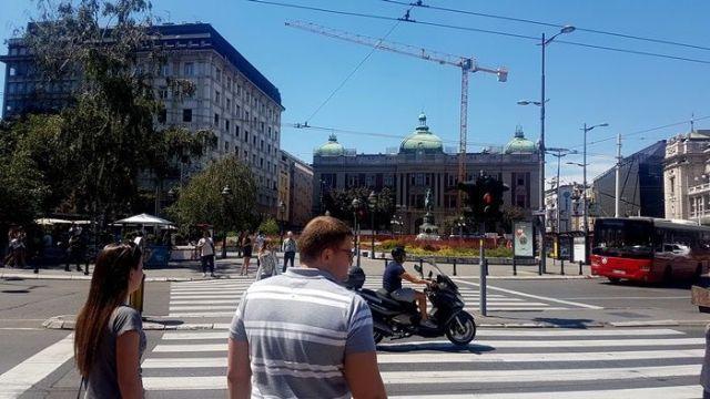 Plaza de la República Belgrado