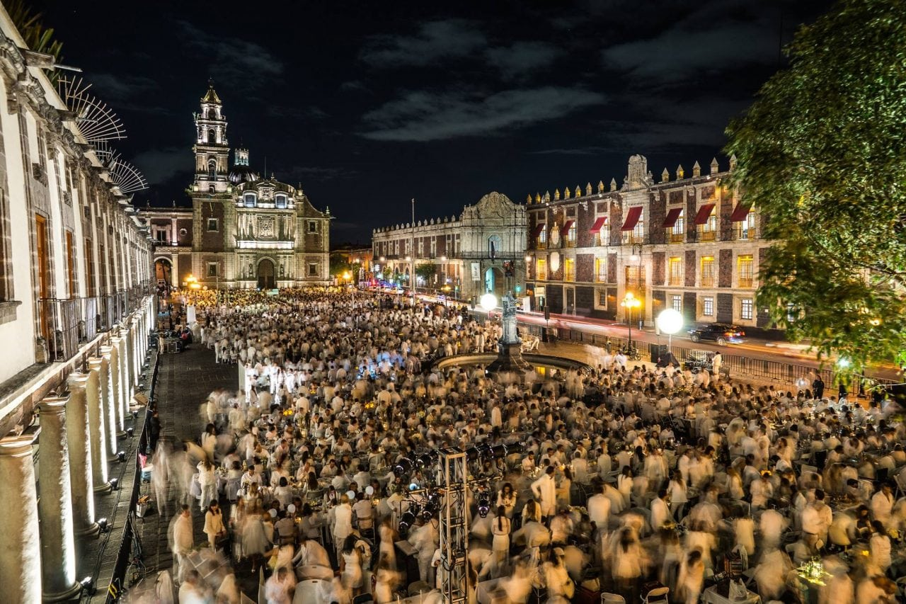 Image result for diner en blanc