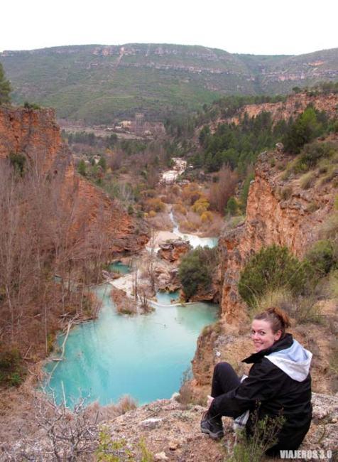 Mirador sobre el río Cabriel en Cuenca