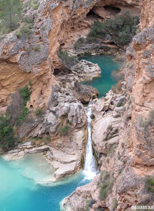 Impresionante paraje de Las Chorreras del Cabriel