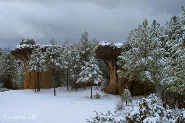 setas de la Ciudad Encantada de Cuenca