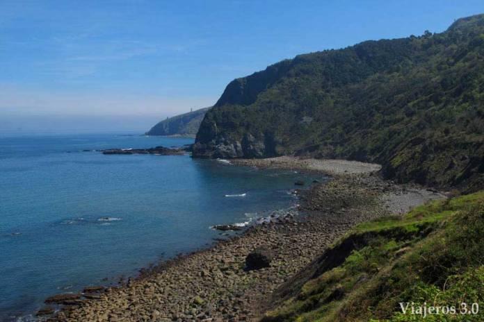 San Juan de Gaztelugatxe, Route à travers la Réserve d'Urdaibai