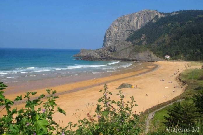 playa de Laga, Reserva de Urdaibai