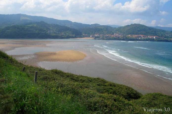 playa de Laida, Reserva de Urdaibai en dos días