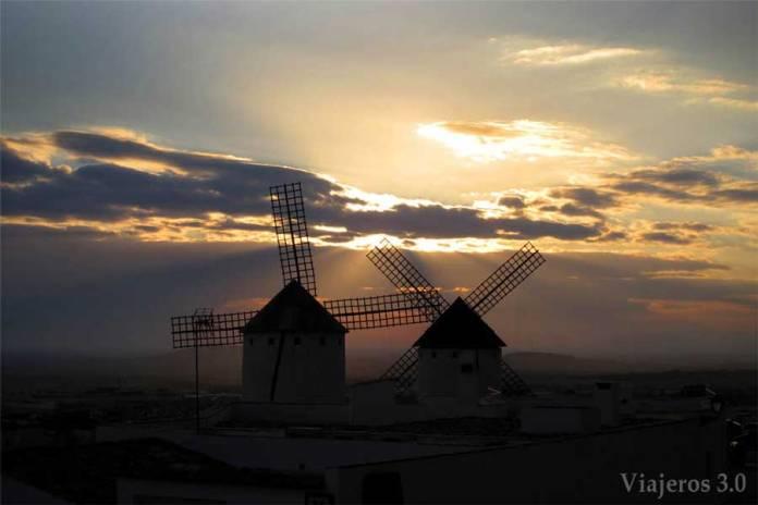 molinos de viento Campo de Criptana