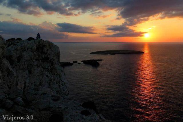 atardeceres, que ver en Menorca