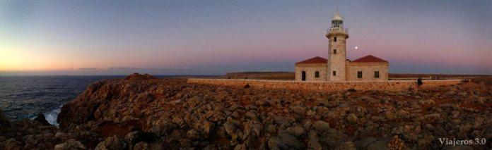 Phares, couchers de soleil de Minorque