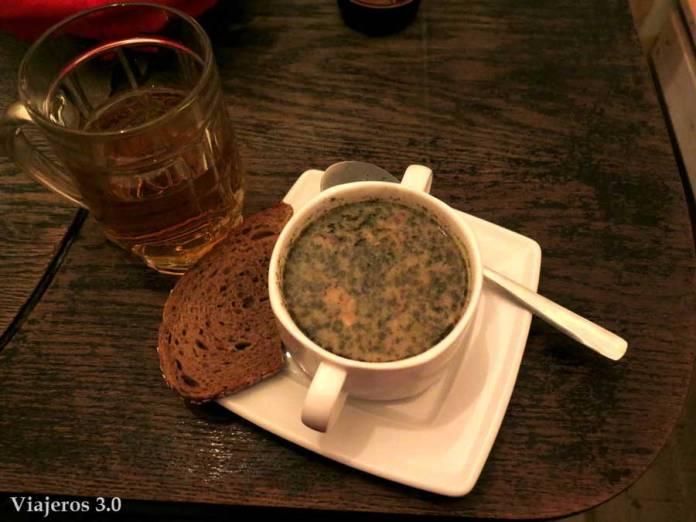 sopa en Polonia
