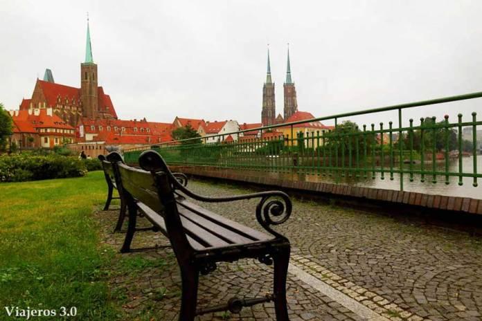 isla de la Catedral en Wroclaw