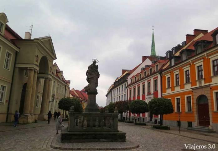 paseo por el centro de Wroclaw
