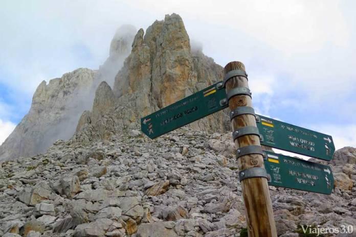 senderismo en Fuente Dé, Picos de Europa