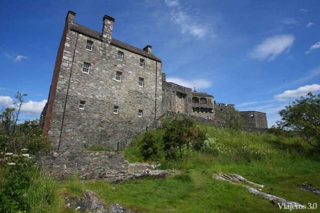 arquitectura del Castillo de Eilean Donan
