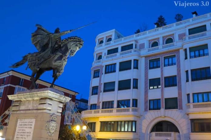 Plaza del Cid Campeador de Burgos