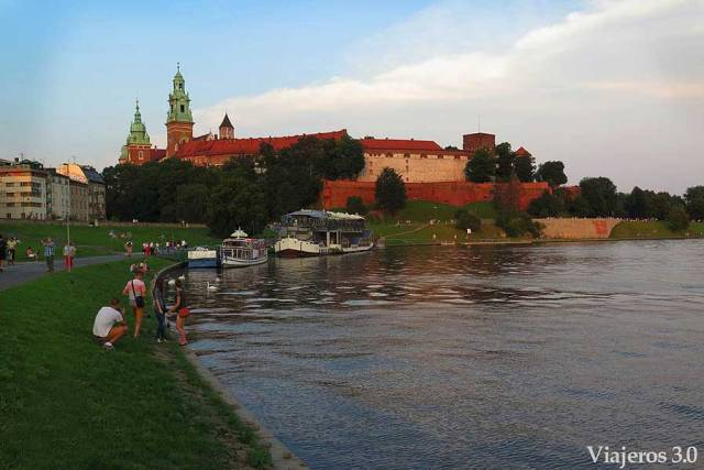 colina de Wawel Cracovia