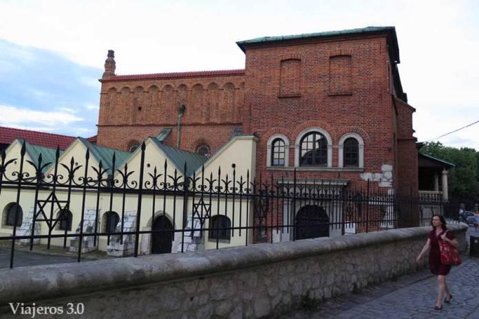 sinagoga en el barrio judío Kazimierz Cracovia