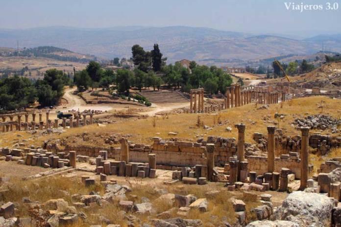 ciudad romana de Jerash