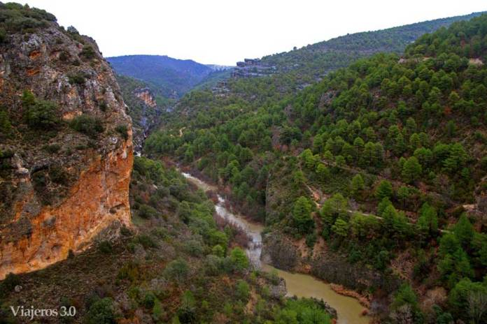 mirador del Diablo río Júcar