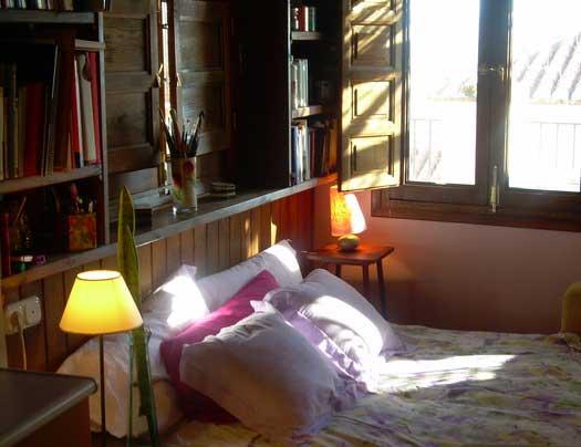alojamiento con encanto en Granada, estudio Pace