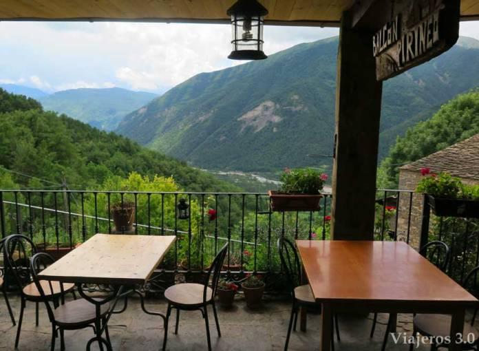 el Balcón del Pirineo en Buesa